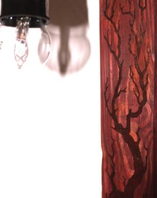Lampe décorative - détail motif
